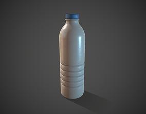 3D model Dirty Plastic Bottle