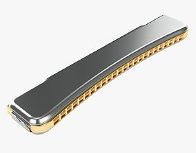 3D Octave mouth harmonica