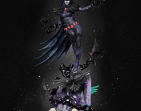 Raven DC Comics 3D print model
