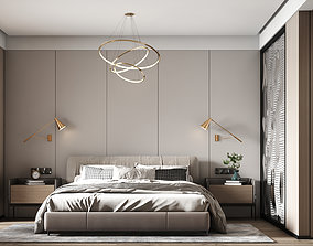 bedroom 3D furnishing
