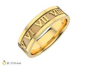 3D print model wedding-ring N158 wedding ring infinity time