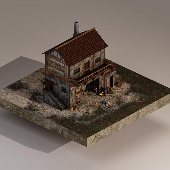 Medieval Trap Workshop