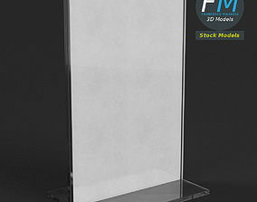 3D Table tent template 3