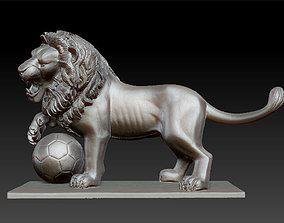 3D print model Lion Sculpture cancer
