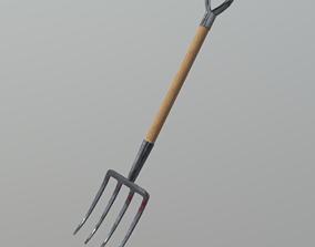 3D asset Pitchfork