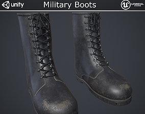 Military Boots 3D asset PBR