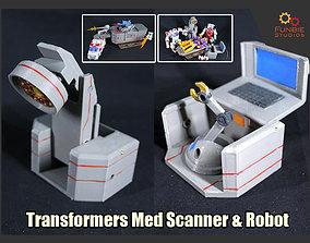 3D print model Transformers Med Scanner and Med Robot