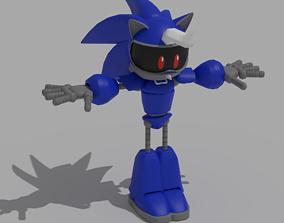 rigged Jules the Hedgehog Model