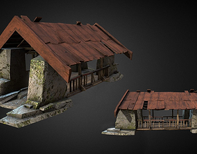 Covered Bridge 3D model