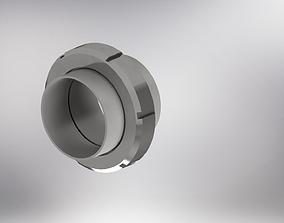 Union - pipe connection 3D