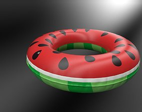Inflatable Pool Float Ring 3D model