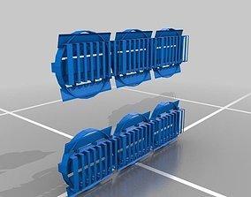 RCS Tread Pads 3D print model