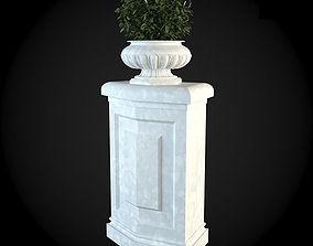 3D model interior Pedestals