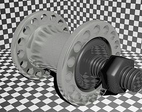 Bike Hub 32 Spoke 3D model