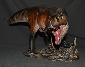 T-REX 3D print model creature