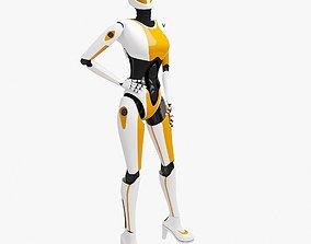 Female Cyborg 3D