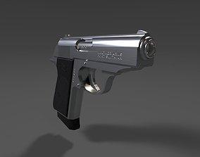 PPK Pistol 3D asset
