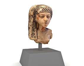 Egyptian princess Meritaten 3D