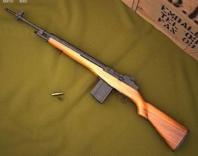 M14 rifle 3D
