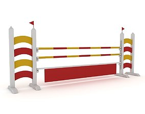 3D Horse Jumping Obstacles
