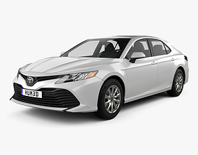 3D Toyota Camry LE 2017