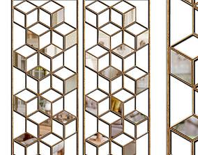 3D model Mirrors Set 26