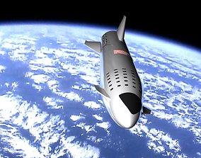 3D spaceflight Starship
