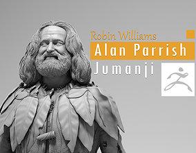 Robin Williams - Alan Parrish - Jumanji 3D print model
