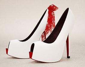3D model Platform High Heels