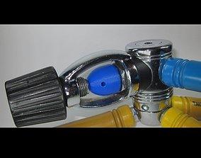 SCUBA - INT or YOKE Regulator Dust Cap 3D printable model