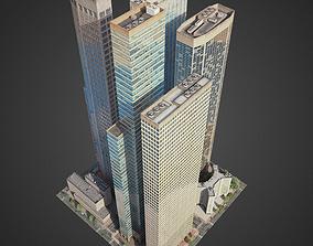 City District H1-H7 3D