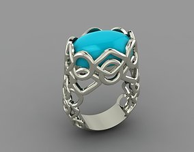 3D printable model Blue Ring fashion-and-beauty