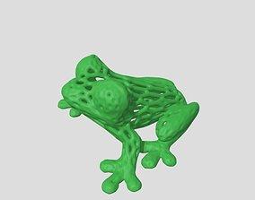 frog art sculpture 3D print model