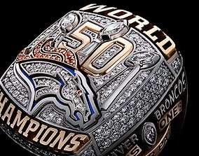 3D print model Denver Broncos Super Bowl Ring