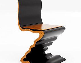 3D Zig Zag Chair 788 by Garry Knox Bennett