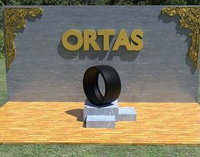 ORTAS TIRE NO 23 GAME READY AND 3D PRINTABLE