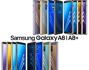 Samsung Galaxy A8 and A8 PLUS COLLECTION 3D model