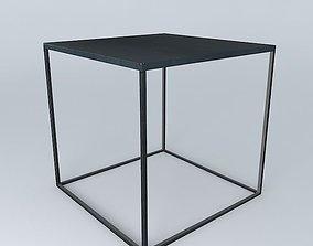 3D model Coffee Table Edison Maisons du Monde