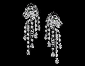 3D print model necklaces earrings