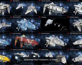 3D model Spaceship Fleet II Collection
