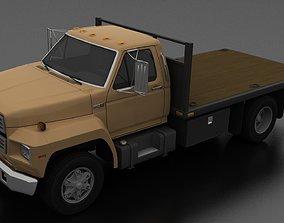 F-800 Flatbed Truck 1980 3D asset
