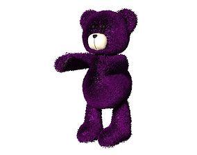 3D Teddy Bear with ear