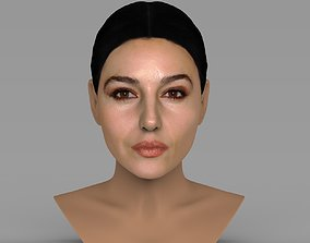 Monica Bellucci bust ready for full color 3D printing