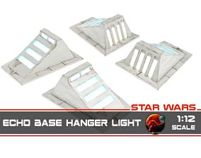 3D printable model Star Wars Echo Base Hanger light - 1-12