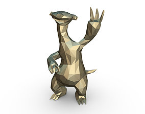 Ice Age Character Sid 3D print model