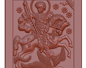 Icon of St George of the 18th-century 3D printable model