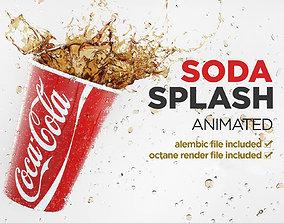 Splash Coca Cup 3D