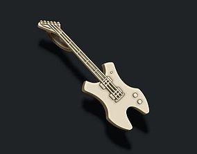 electric guitar pendant 3D print model