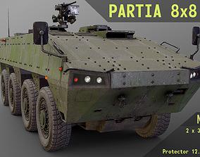 The Patria AMV 8x8 Modular Pack 3D asset