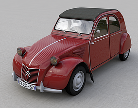 CITROEN 2CV AZ 1957 3D model